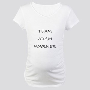 Team Adam Warner Maternity T-Shirt