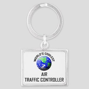 AIR-TRAFFIC-CONTROLL63 Landscape Keychain