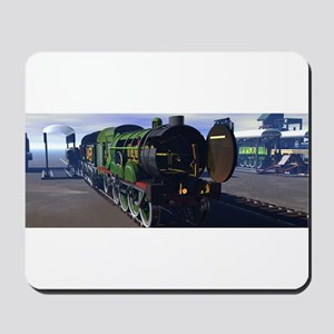 Flying Scotsman with its insides showing, Mousepad