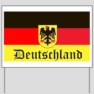 Deutschland Yard Sign