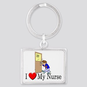 nurses329 Landscape Keychain