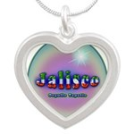 Jalisco Silver Heart Necklace