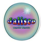 Jalisco Round Car Magnet
