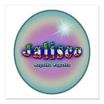 Jalisco Square Car Magnet 3