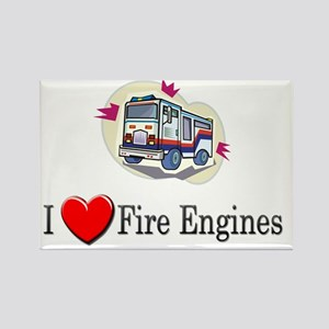 fireengine58 Rectangle Magnet