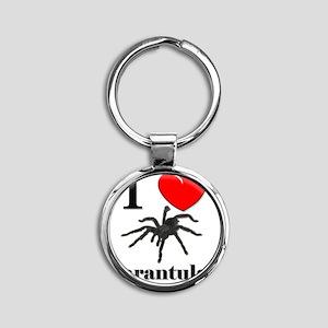 Tarantulas51382 Round Keychain