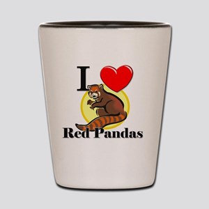 Red-Pandas63321 Shot Glass