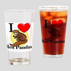 Red-Pandas63321 Drinking Glass