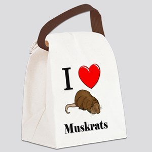 Muskrats35261 Canvas Lunch Bag