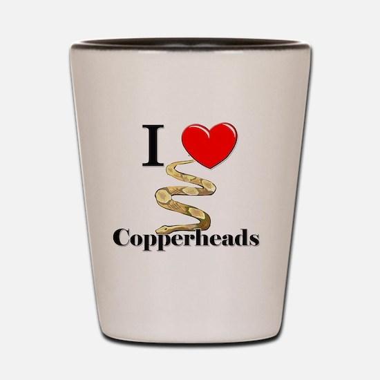 Copperheads97106 Shot Glass