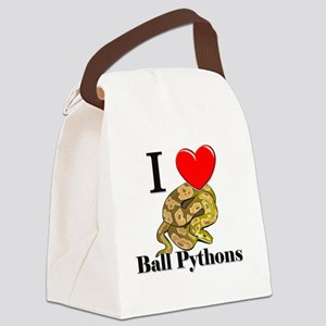 Ball-Pythons11631 Canvas Lunch Bag