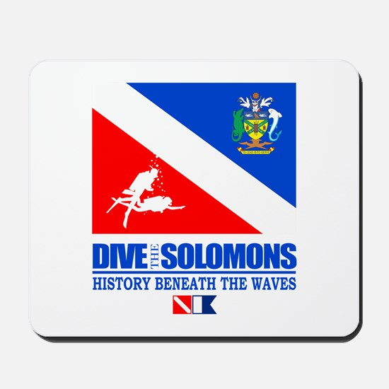 Dive the Solomons Mousepad