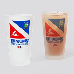 Dive the Solomons Drinking Glass