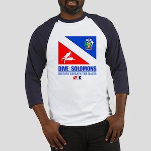 Dive the Solomons Baseball Jersey