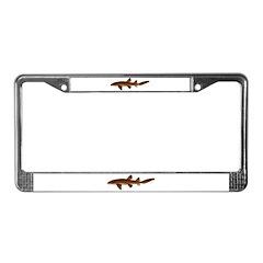 Nurse Shark License Plate Frame