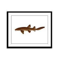 Nurse Shark Framed Panel Print