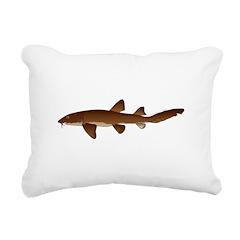 Nurse Shark Rectangular Canvas Pillow