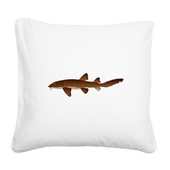 Nurse Shark Square Canvas Pillow