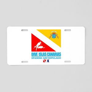 Dive Islas Canarias Aluminum License Plate