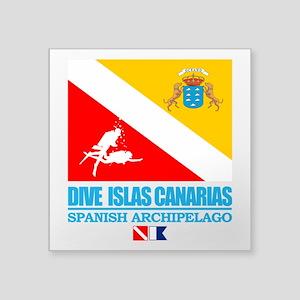 Dive Islas Canarias Sticker
