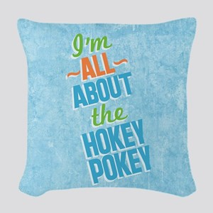 I'm All About The Hokey Pokey Woven Throw Pill