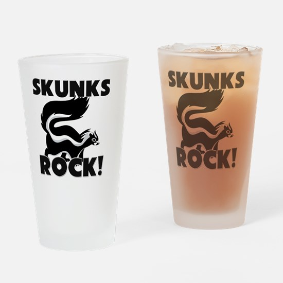 SKUNKS5069 Drinking Glass