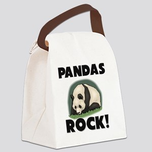 PANDAS103141 Canvas Lunch Bag