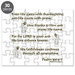 Psalm 100 Puzzle