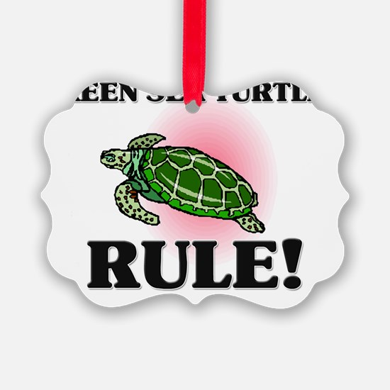 GREEN-SEA-TURTLES122248 Ornament