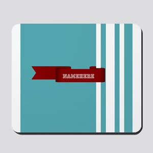 Custom Sporty Banner Mousepad