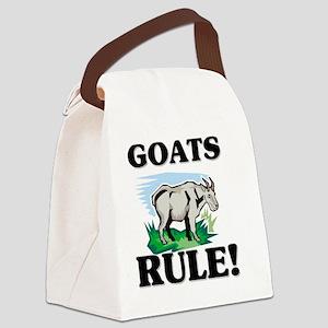 GOATS57258 Canvas Lunch Bag