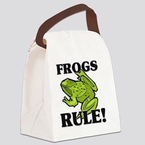 FROGS127270 Canvas Lunch Bag