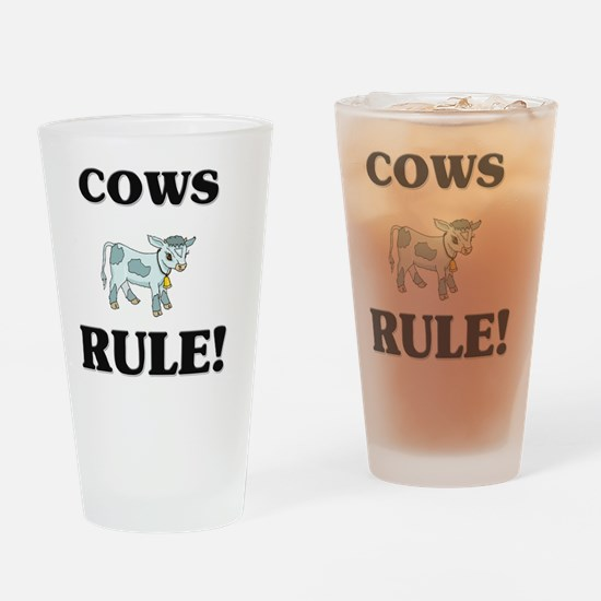 COWS117313 Drinking Glass