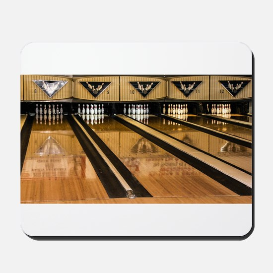 The Bowling Alley Mousepad