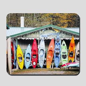 Kayaks Mousepad