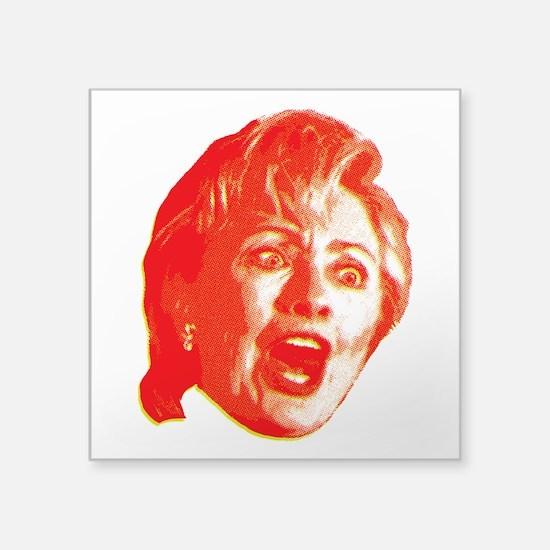 Hillary Rage Sticker