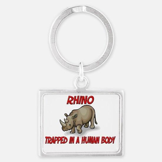Rhino2496 Landscape Keychain