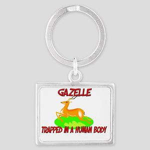 Gazelle122268 Landscape Keychain