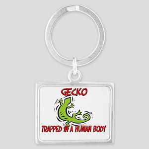 Gecko116267 Landscape Keychain