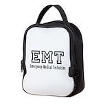 EMT Emergency Logo Neoprene Lunch Bag