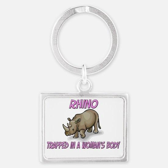 Rhino3396 Landscape Keychain