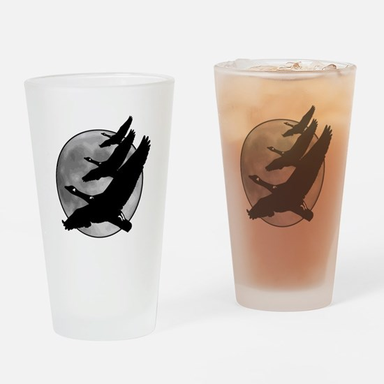 Canadian Geese Drinking Glass