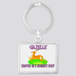 Gazelle83264 Landscape Keychain