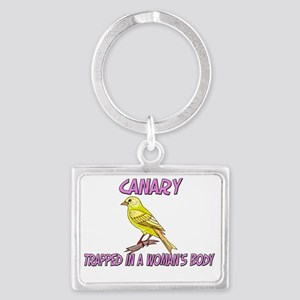 Canary4345 Landscape Keychain