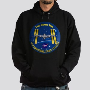 I Saw the ISS!! Hoodie (dark)