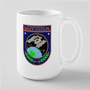 ISS Program Logo Large Mug