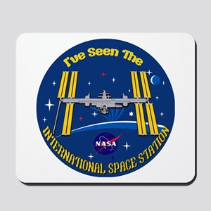 I Saw the ISS!! Mousepad