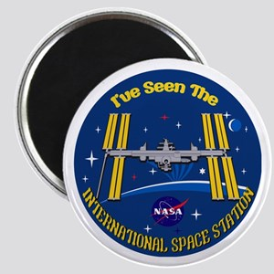 I Saw The Iss!! Magnet Magnets