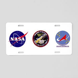 Zarya-Unity Modules Aluminum License Plate