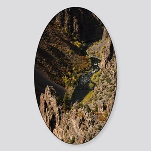 Black Canyon of the Gunnison Sticker (Oval)